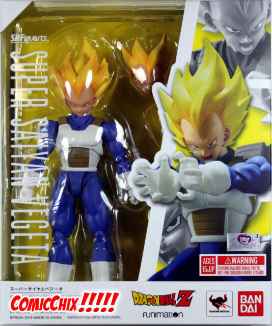 Super Saiyan Vegeta Dragon Ball Z Bandai S.H.Figuarts Action Figure NEW IN STOCK