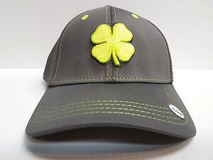 562e01c8542 Black Clover Cap Premium Clover 25 Stretch Fit Golf Hat Live Lucky ...
