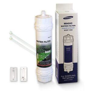 Copieux Véritable Réfrigérateur Filtre Pour Samsung Wsf-100 Magique Filtre à Eau Ef-9603, Ef9603-afficher Le Titre D'origine