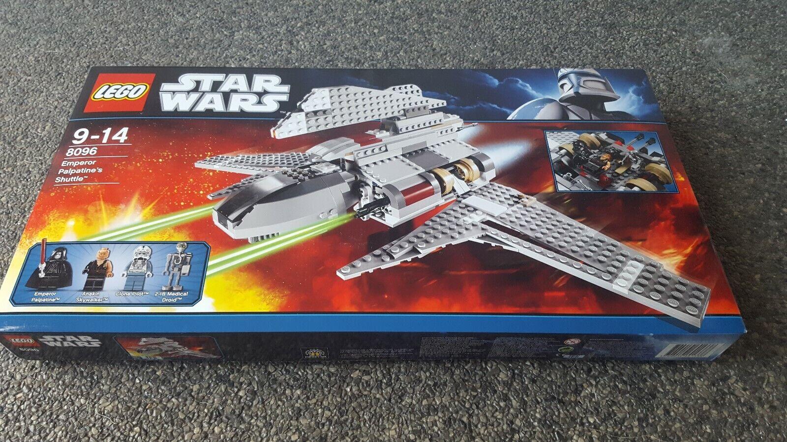 LEGO 8096 estrella guerras EMPEROR PALPATINE'S  SHUTTLE FACTORY SEALED  produttori fornitura diretta