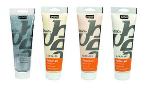 Details about Pebeo Studio Acrylic Sand Texture Gel Medium for Painting &  Mixed Media 250ml