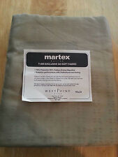 """NEW MARTEX SUITES T-200 EXCLUSIVE KHAKI TABLE RUNNER OR BED SCARF 92"""" X 24"""""""