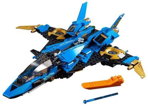 LEGO NINJAGO LEGACY 70668 JAYS LIGHTNING JET BUILD ONLY NO MINIFIGURES