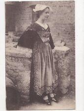 Jeune Alreenne Vintage Postcard  218a