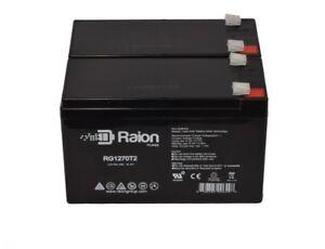UPS 12V 7Ah SLA Replacement Battery Set for MGE Pulsar ESV 8