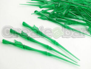 50-Bamboo-Plastic-Picks-Jungle-Hawaiian-Buffet-Food-Cocktail-Cupcake-Toppers