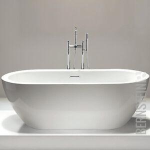 Vasca da bagno indipendente jazz acrilico bianco 173x78 - Vasca da bagno acrilico ...