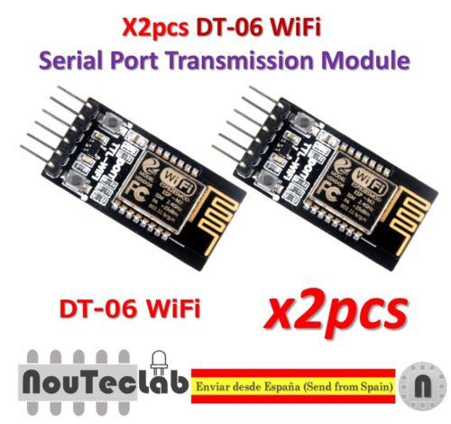 2pcs DT-06 Wireless WiFi Serial Port TTL-WiFi Transmission Module HC-06 ESP-M2