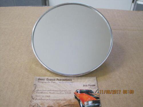 1947-1972 C-10 Pick Up Chrome Round Exterior Mirror  New Reproduction SHARP