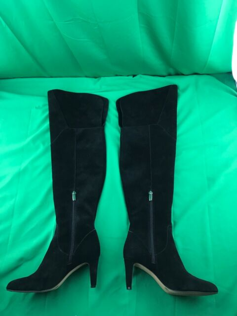 7a20258cc2f New VINCE CAMUTO Black ARMACELI Over-The-Knee Boots Size 6 1 2 M ...