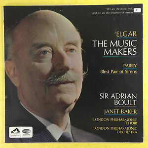 Elgar-The-Music-Makers-Parry-Blest-Pair-Of-Sirens-Boult-LPO-ASD-2311