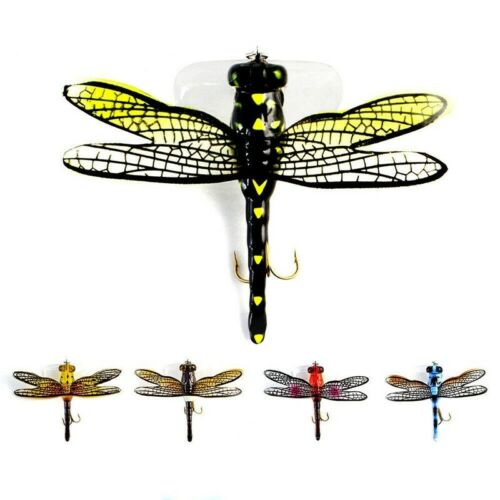 Dragonfly Dry Flies Insect Fishing Lure Treble Hooks Bionic Bait Flies Insect