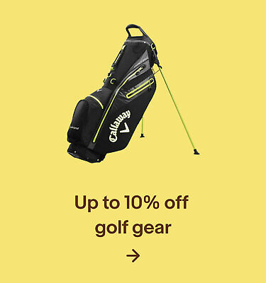 Up to 10% off Golf Gear