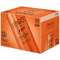 Pepsi Cola 1893 Citrus Cola Certified Fair Trade Sugar Real Kola Nut 12 Count