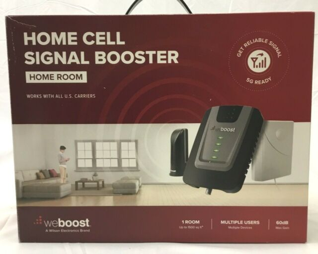 """NEW weBoost Home Room Cell Phone Signal Booster Kit, """"All U.S. Carriers"""". 472120"""