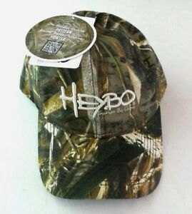Heybo Realtree Men's Hat Cap Fishing Hunting Camouflage One Size Snapback Max5