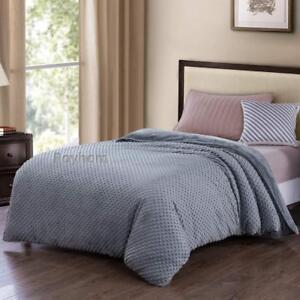 Royhom Removable Duvet Covers For Weighted Blanket Minky Pot Duvet