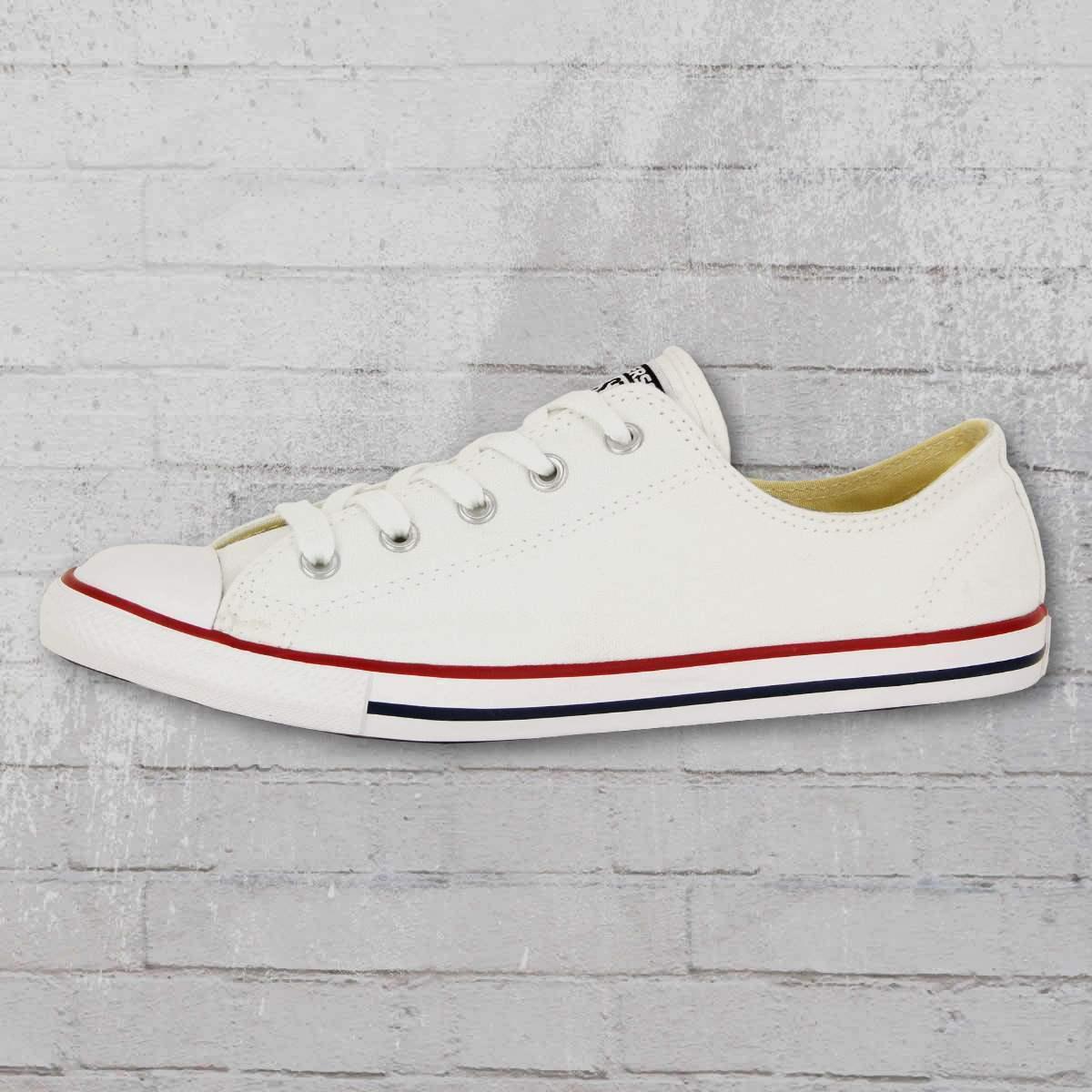 Converse Chucks Low Womens shoes CT Dainty Ox White Women Sneakers Flat Sole