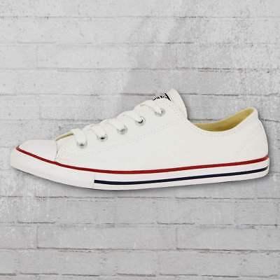 Converse Low Chucks Damen Schuhe CT Dainty OX weiss Frauen Sneaker flache Sohle   eBay