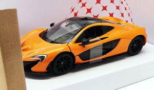 Rastar-1-24-escala-Diecast-Modelo-Coche-56700-McLaren-P4-Naranja
