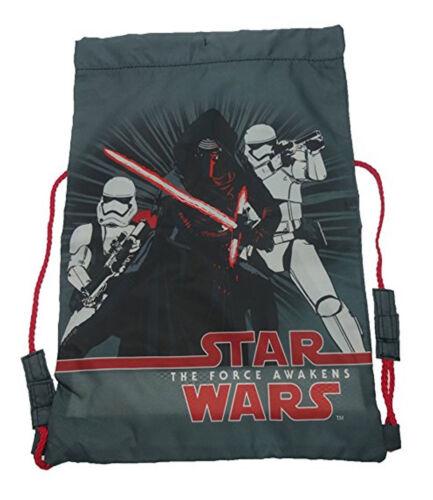 Star Wars The Force Awakens Elite Squad Drawstring Trainer School Bag Kids