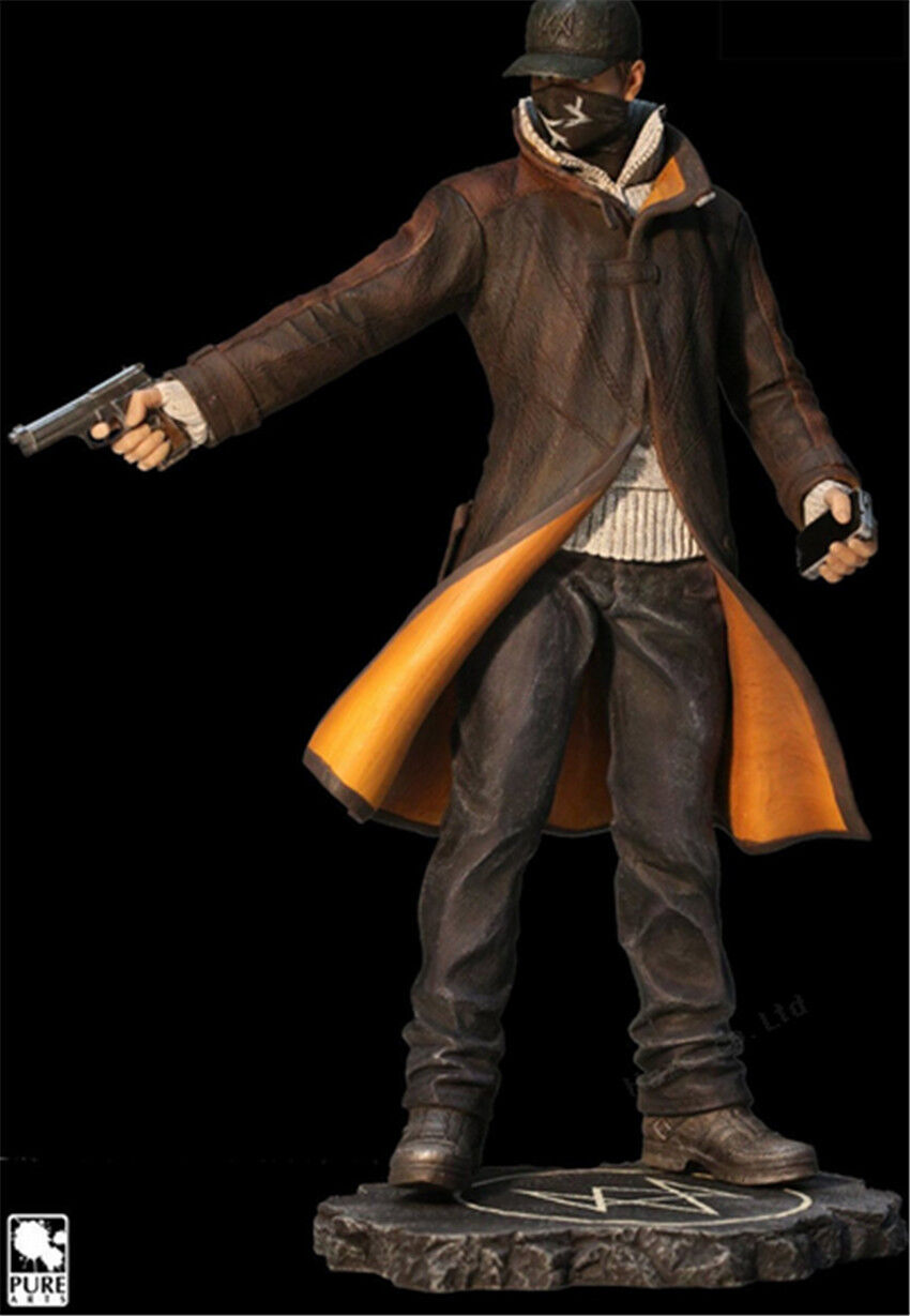 Watch Dogs Aiden Pearce 9 '' New Box Action Figure Figure Figure Doll cool 342149