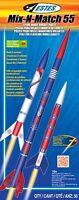 Estes Flying Model Rocket Kit Mix-n Match 55 2006