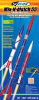 Estes Flying Model Rocket Kit Mix-n Match 55 2006