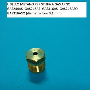 Ugello metano per stufa a gas argo diametro foro 310 ebay for Stufe a gas metano argo prezzi