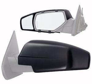 2015 chevrolet silverado gmc sierra 1500 clip on towing mirror extension pair ebay. Black Bedroom Furniture Sets. Home Design Ideas