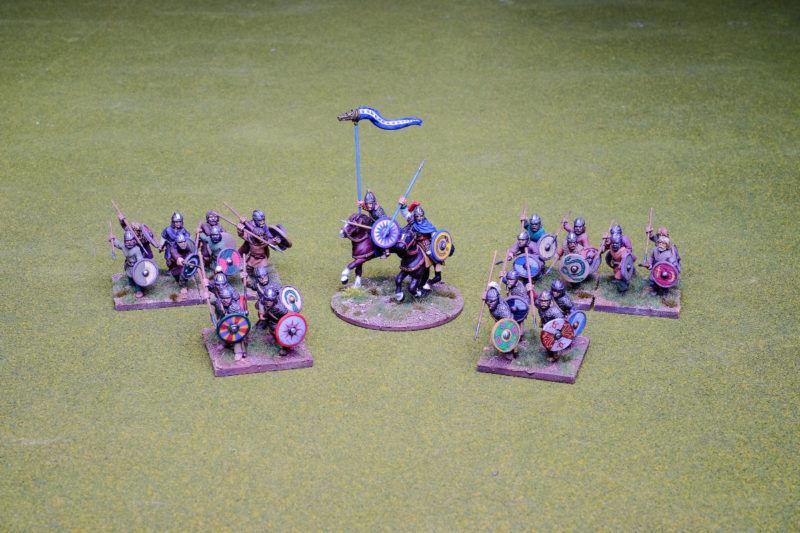 Visigoth Warband Footsore Miniatures SAGA Dark Ages 30GTH901