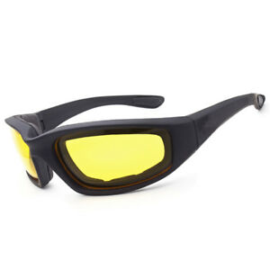 b9aa814a5c4 Image is loading Yellow-Sun-Glasses-Day-Night-Vision-Driving-Motorcycle-