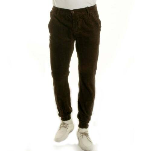 Fly Guy Cuff Bottom Corduroy Casual Trousers