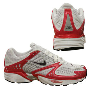 outlet store d4343 cdb6f Details about Nike Air Zoom Elite 2005 Womens White Lace Up Running  Trainers 311123 161 T5