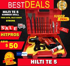 Hilti Te 5 Preowned Strong Free Bits Hilti Knife Fast Ship