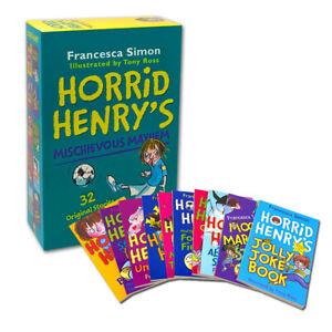 Horrid-Henry-039-s-Mischievous-Mayhem-Collection-10-Books-Box-Set-Children-Pack