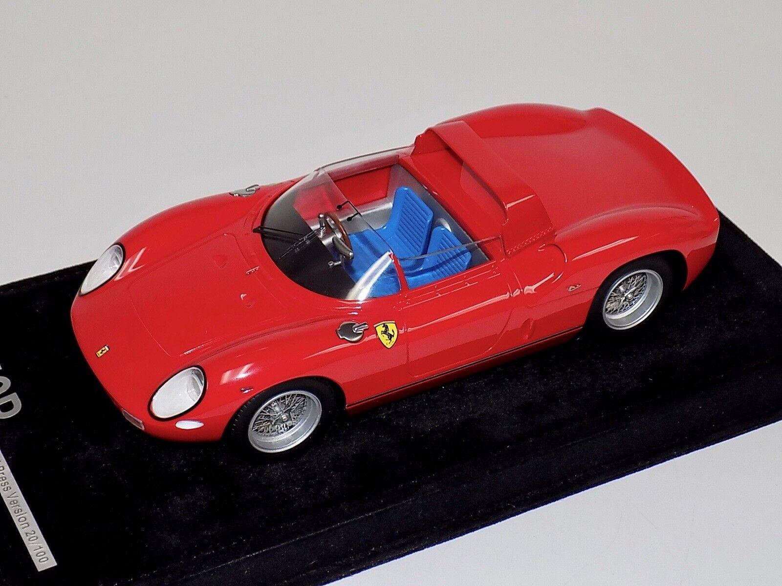 1/18 AB Models Ferrari 250 P 1963 Presentation Version Lim #100 of 100  F7