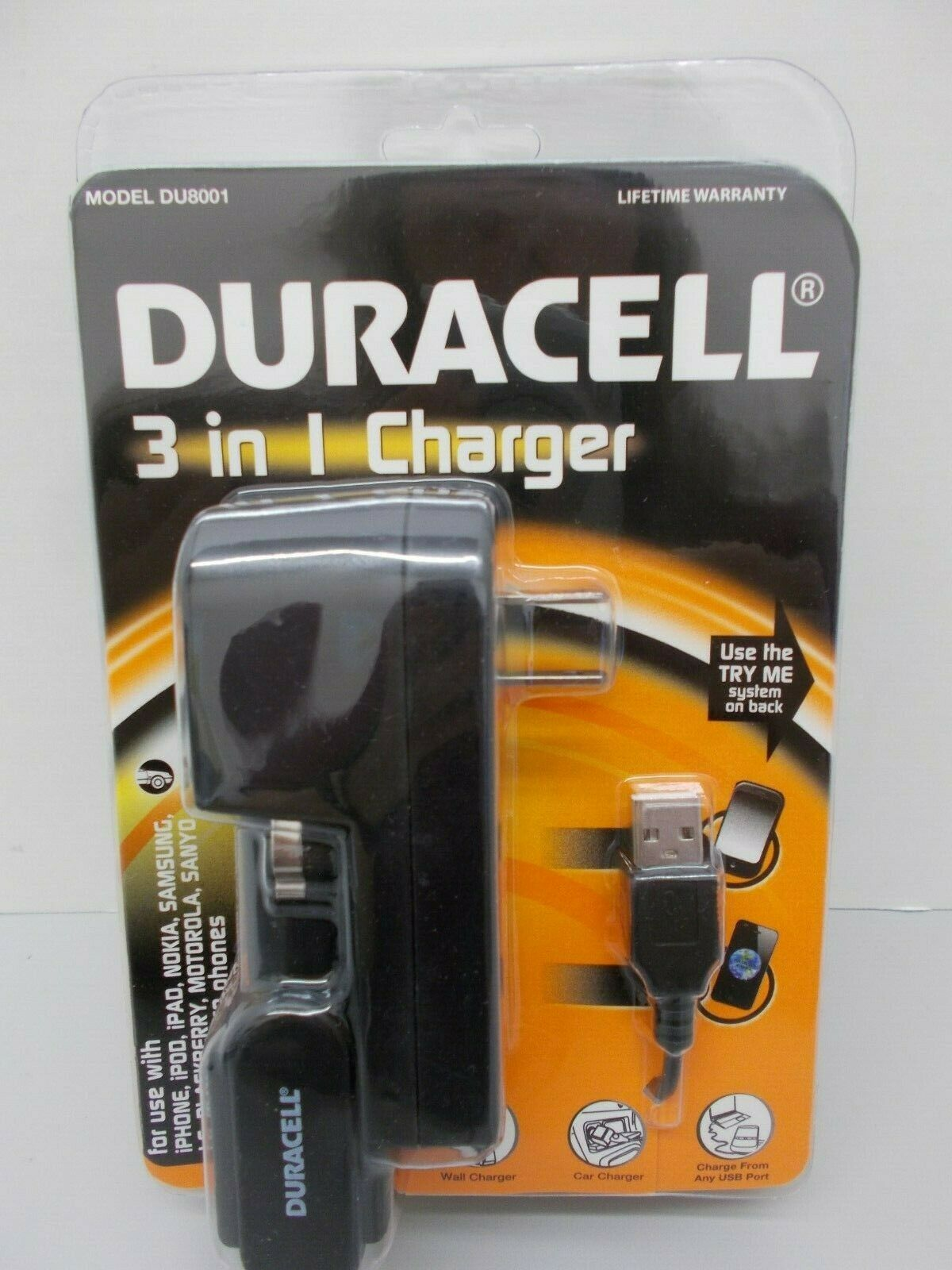 Duracell Du8006 3 In 1 Charger For Sale Online Ebay