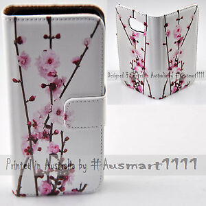 For-HTC-One-X9-10-M9-M8-Desire-820-626-Cherry-Blossom-Flip-Wallet-Phone-Case
