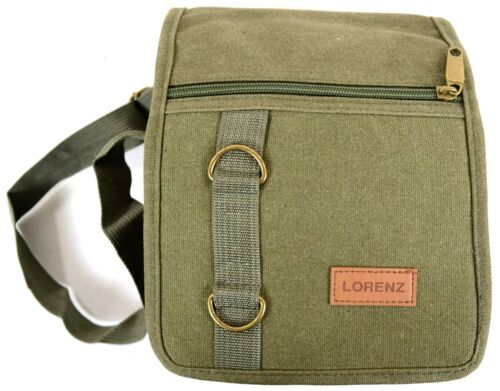Unisex Travel 5 Colours Work Canvas /'Small Messenger/' Style Shoulder Bag