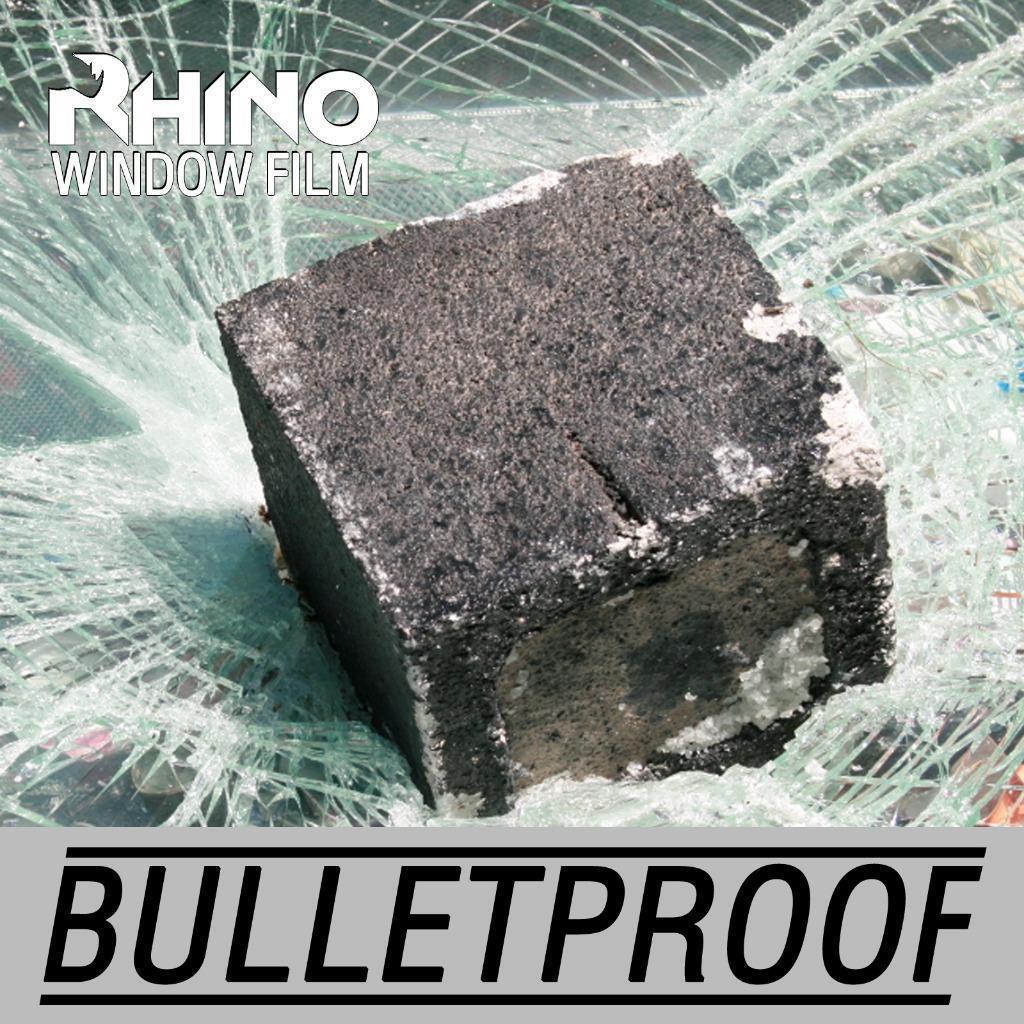 A prueba de balas, bombas, Clear película de ventana de seguridad irrompible, Extra Duro grueso