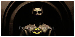Original-Batman-Art-Print-Poster-Cowl-Costume-Adam-West-Michael-Keaton-Mask-1989
