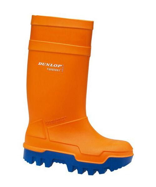 DUNLOP Purofort Arancione THERMO Wellingtons PLUS -40 isolante sicurezza Wellingtons THERMO dimensioni 513 496227