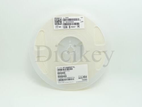 200PCS X 1206 12R 0.1/% 25PPM 1//4W Thin Film SMD Chip Resistor RT1206BRD712RL
