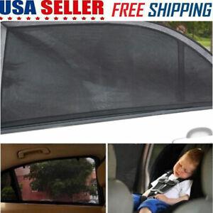 Car Front Rear Window Sun Visor Shade Mesh Cover Shield Sunshade UV Protector