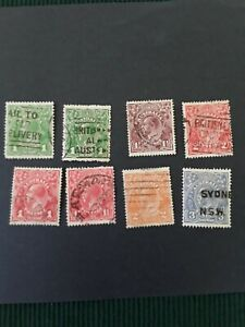 australia-stamps-collection