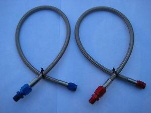 NOS-NITROUS-NX-ZEX-HOLLEY-EDELBROCK-4AN-3AN-18-034-BLUE-RED-LINE-HOSE-KIT-NEW-LQQK