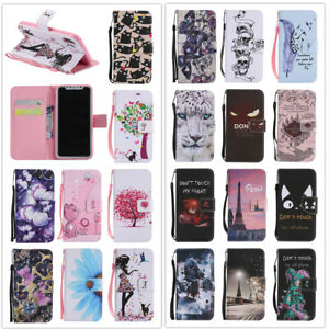 For-Samsung-Galaxy-A10-A20-A30-A40-A50-A70-Wallet-Flip-Leather-Phone-Case-Cover