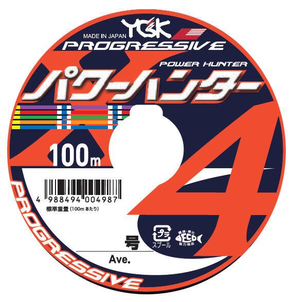 YGK Yotsuami 18 Power Hunter Progressive X4 PE (Ave. 12kg )-1200m