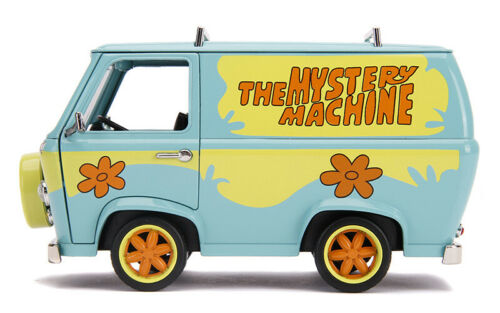 Jada 31720 Hollywood Máquina Mistério Scooby Doo Com 1//24 Bonecos Scooby Salsicha